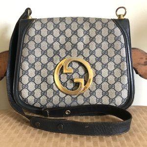 Vintage 70s Gucci Blondie Distressed Logo GG AS IS